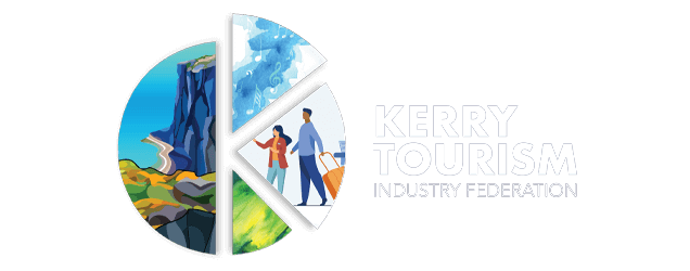 Discover Kerry  Killarney - Logo inverted