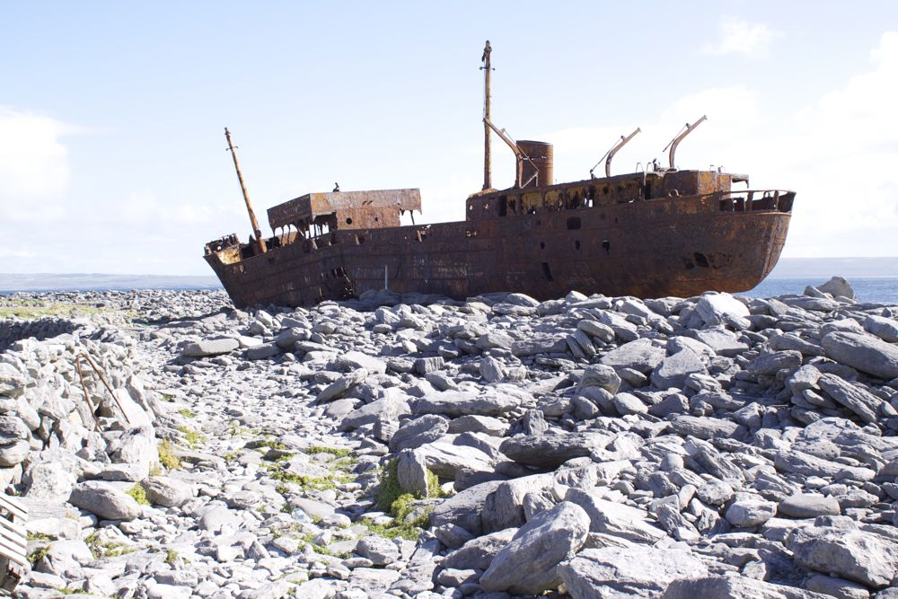 Discover Kerry | Killarney | Shipwreck along the ring of Kerry
